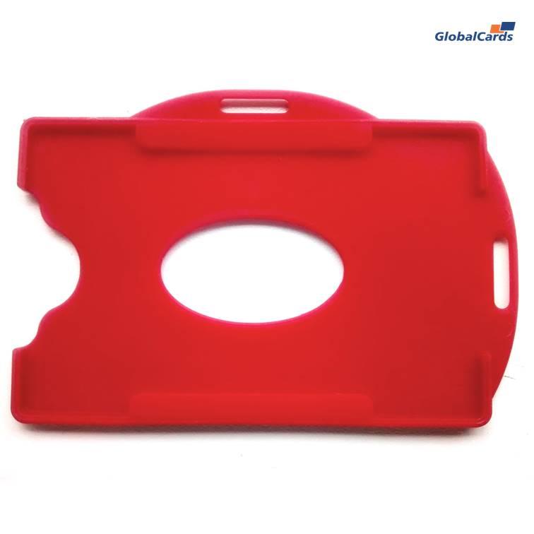 Protetor Crachá Rígido Universal (100un) Vermelho