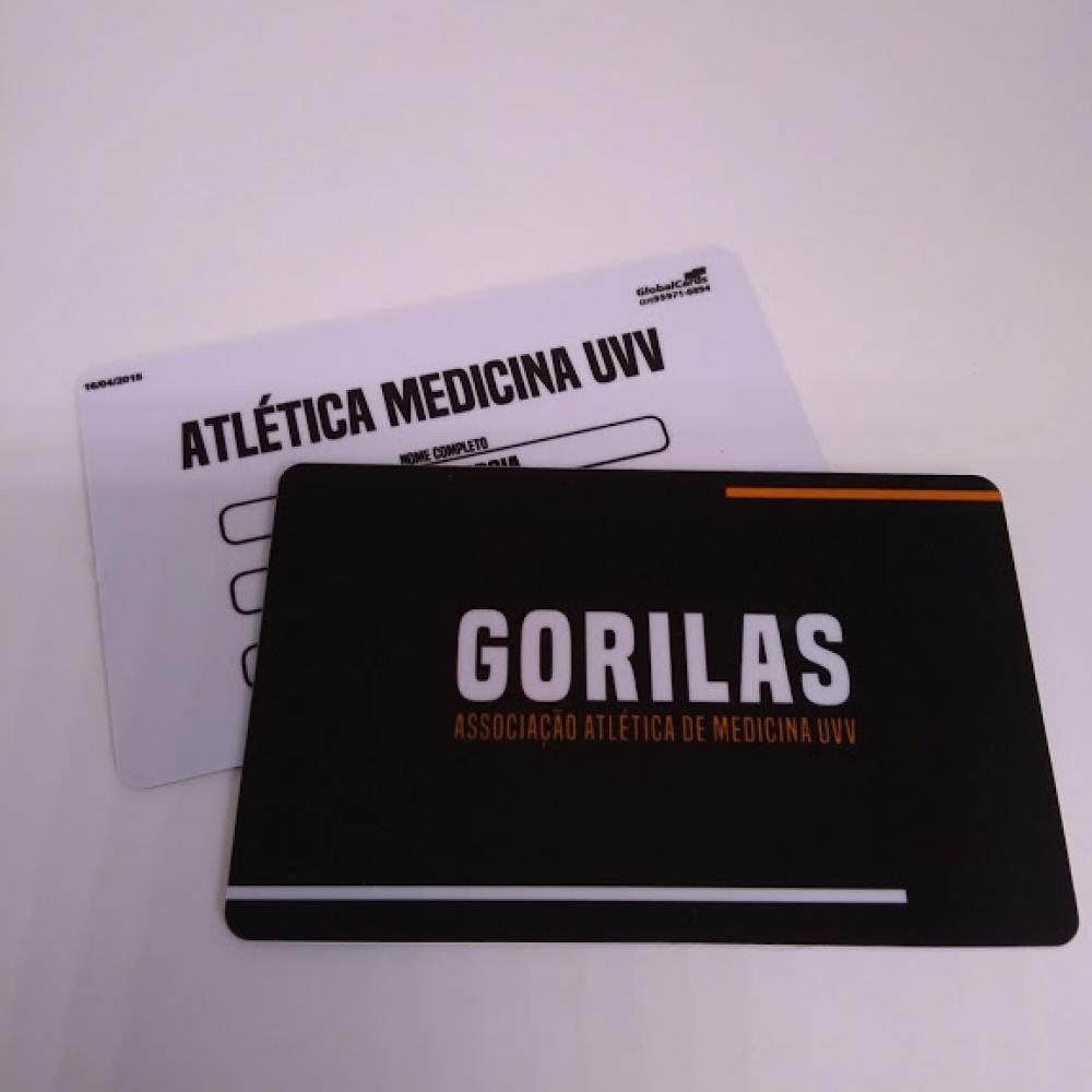 Cartão Fidelidade com Dados Variáveis PVC +100 Unidades