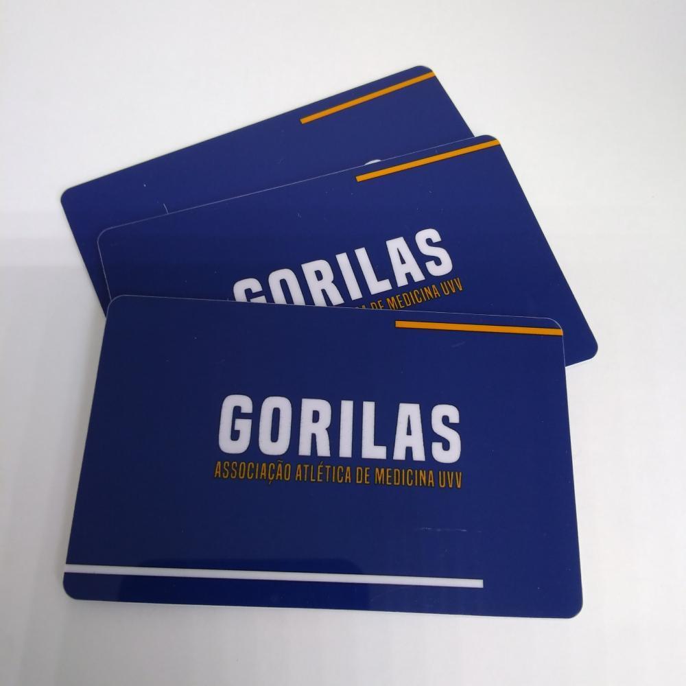 Cartão Convênio Impresso PVC 0,76mm - 4x4 Cores +200