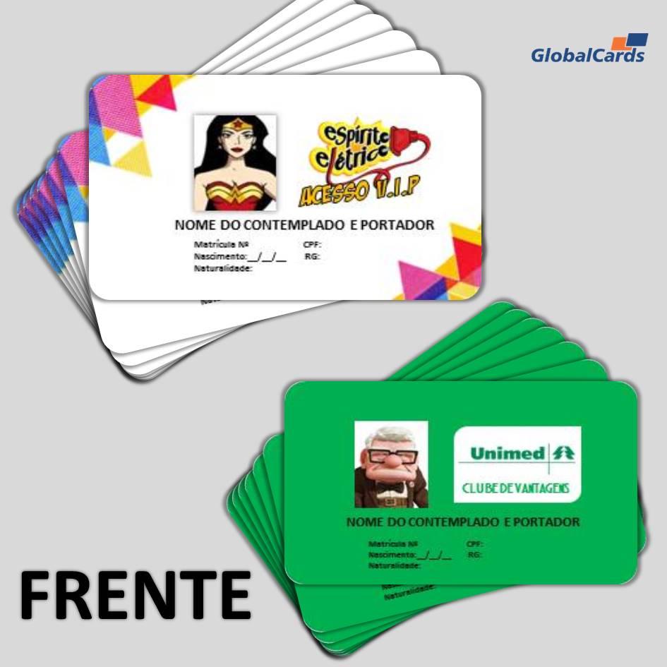 Cartão Fidelidade VIP - 4x4 Cores 100 Unidades