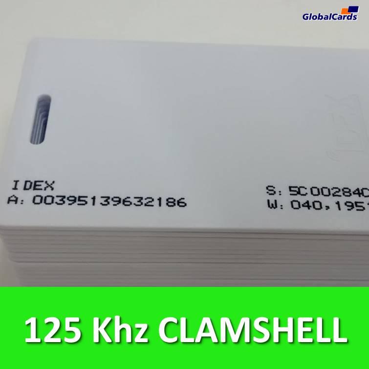 Cartão de Proximidade e Controle de Acesso PVC ISO RFID 125khz (cx c/ 100 unidades)