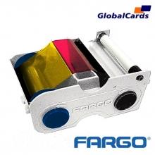 Ribbon Fargo 44200 YMCKO Color 250 impressões, *Persona c30, DTC300 DTC400