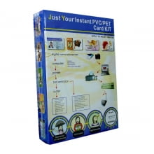 Folha de PVC PET Branco 200x300mm para impressora Jato de Tinta MPVW76D-1 formato A4 (c/ 50 jogos) - Globalcards Gráfica e Suprimentos