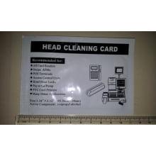 Cartão de Limpeza CR-80 Terminal POS, Porta de Hotel, ATM