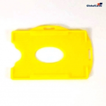Protetor Crachá Rígido Universal (100 un) Amarelo