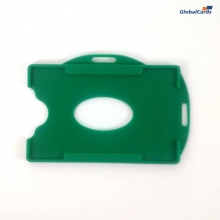Protetor Crachá Rígido Universal Verde 88x57mm (100 un)