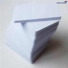 Cartão de PVC Branco 0,76mm CR-80 caixa com 100 unidades (mínimo 50 caixas)