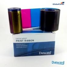 Ribbon Datacard SP35 SD260 YMCKT colorido 534000-003 subst 552854-504 c/ 500 impr (min 4)