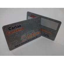 Cartão para Associado Impresso PVC 0,76mm - 4x4 Cores (min 1000un)