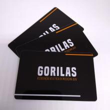 Cartão Sócio-Torcedor mpresso PVC  0,76mm 4x4 Cores 200 unidades