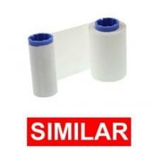Ribbon Zebra 800015-109 Branco - SIMILAR - para P330, P430 - resina 56x91mt