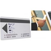Cartão de Proximidade Fechaduras Eletrônicas RFID 13,56mhz Inteligente 1Kb - porta hotel (100 unidades)