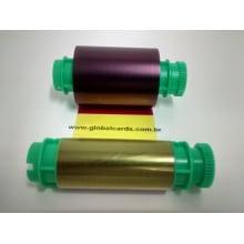 Ribbon Star Colorido YMCKO Pointman TP-9200 para 200 impressões S/ chip