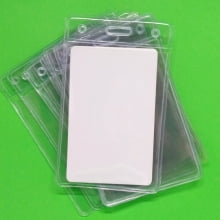 Bolsa de PVC Vertical 60x90mm interno 54x86mm (100 unid.)