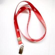 Cordão Digital 12mm para crachá c/ presilha clips jacaré (mínimo de 200)