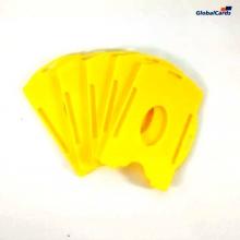 Protetor Crachá Rígido Universal (1 unid.) Amarelo