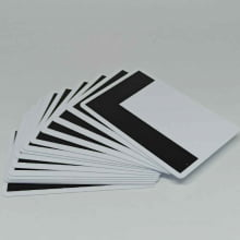 Cartão de PVC com Tarja de Proteção Preta em L p/ ocultar o Código de Barras (caixa com 100 unidades)