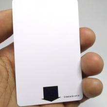 Cartão PVC Fechadura Hotel - Ecomizador de Energia Kaba RFID 1x0cor