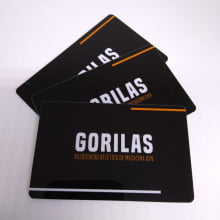 Cartão Fidelidade Impresso PVC 0,76mm - 4x4 Cores +50