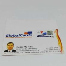 Cartão Visita Couchê 300g Verniz Local 9x5cm 4x0 500 Unidades