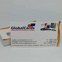 Cartão Visita Couchê 300g Verniz Local 9x5cm 4x4 500 Unidades