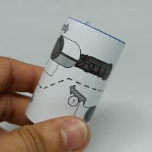 Datacard 569946-001 - Kit de Limpeza - Roletes (5 unidades)