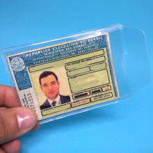 Porta Carteira Motorista CNH Documento Habilitação 67x92mm