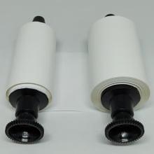 Ribbon Evolis R2015 Branco - SIMILAR - para Pebble, Dualys, Quantun - resina 60mm x 91mt