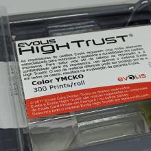 Ribbon Evolis R5F008AAA YMCKO 300 Impressões
