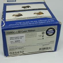 Ribbon Fargo 45432 YMCKO Color 250 impressões, Impressora C50