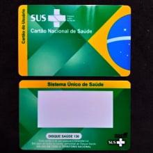 Cartão SUS em PVC 0,76mm 4x4 cores