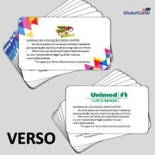 Cartão Fidelidade VIP Destaque Com Foto 4x4 Cores (min 100 unid)