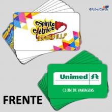 Cartão Fidelidade VIP   Sua Marca 4x4 Cores (min 100 unid)