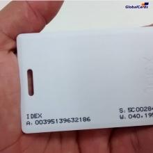 Cartão de Proximidade RFID 125Khz Branco p/  Acura CLAMSHELL   . (01 unidade)