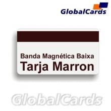 Cartão de PVC Branco c/ Tarja Magnética Lo-Co Baixa Coercitividade (cx c/ 100 un)