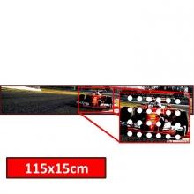Adesivo Perfurado 110x15cm 4x0 Cores Faixa - Globalcards Suprimentos
