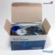Ribbon Datacard SD360 YMCKT-KT colorido c/ 300 impr NOVO
