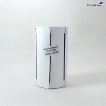 Etiqueta Cartão 120gr 50x30mm x 2 colunas